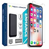 Tech Armor Apple iPhone X/Xs Enhance Radiation Blocking Screen Protector [1-Pack] Case-Friendly, Scratch Resistant, 3D Touch Accurate Designed for New 2018 Apple iPhone Xs