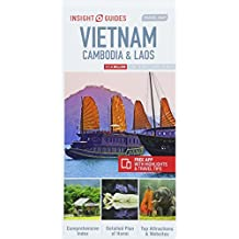 Insight Guides Travel Map Vietnam, Cambodia & Laos