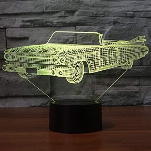 3DナイトライトベッドサイドライトタッチスイッチUSB充電カラフルな長寿命グラデーション自然光3D印刷 ZHJING