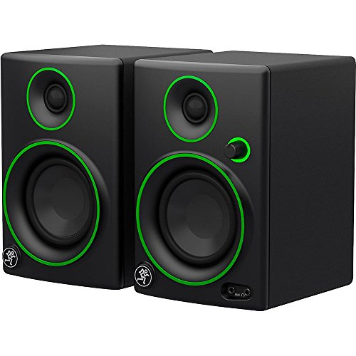 Mackie CR Series CR3 - 3'' Creative Reference Multimedia Monitors (Pair) + Includes Bluetooth 2-in-1 Wireless Audio Receiver by Beach Camera (Image #3)