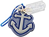 Kate Aspen ''Anchors'' Away Luggage Tag