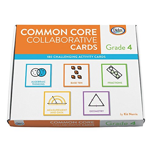 Didax Educational Resources Common Core Collaborative Cards  Gr 4