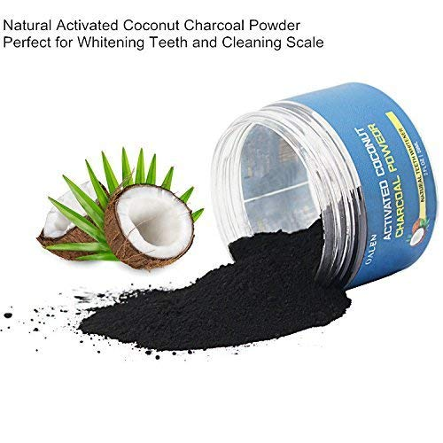 Activated Charcoal Teeth Whitening Powder Natural Organic Coconut Charcoal Powder,Teeth Whitener Charcoal Toothpaste for Teeth and Gums 2Oz