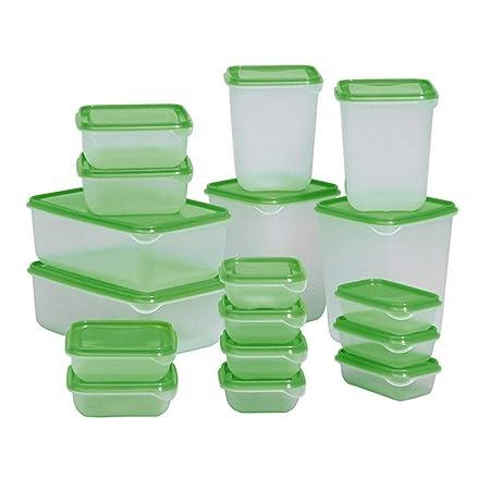 Estantería de almacenamiento Alimentos caja de plástico de ...