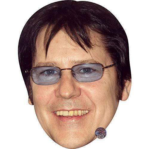 Shakin' Stevens (Glasses) Celebrity Mask, Card Face and Fancy Dress Mask