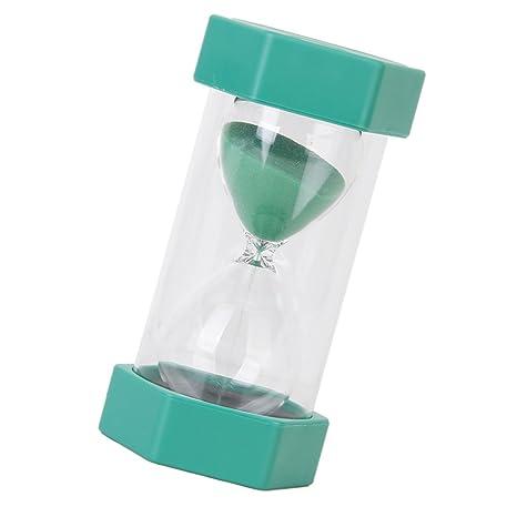 Reloj de Arena de 10 Minutos de Color Verde