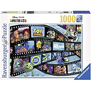 Ravensburger Disney-Pixar: Movie Reel 1000 Piece Jigsaw Puzzle for Adults - Every piece is unique, Softclick technology Means Pieces Fit Together Perfectly