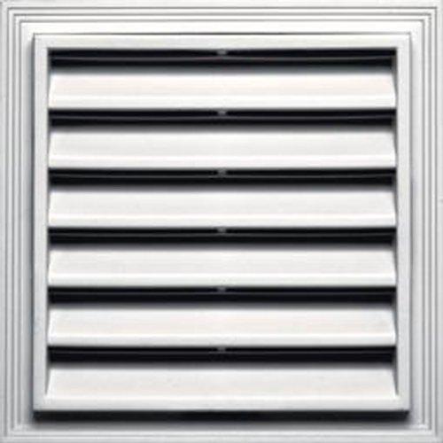 - Builders Edge 120061218117 Vent, Bright White