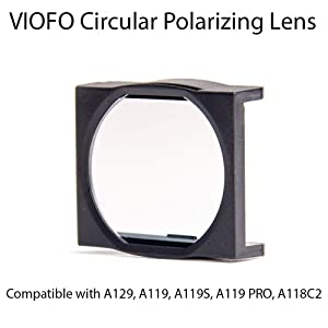VIOFO Circular Polarizing Lens (CPL), Updated Model Compatible with A129, A119, A119S, A119 PRO, A118C2 Dash Cams (Reduce Reflections and Glare)