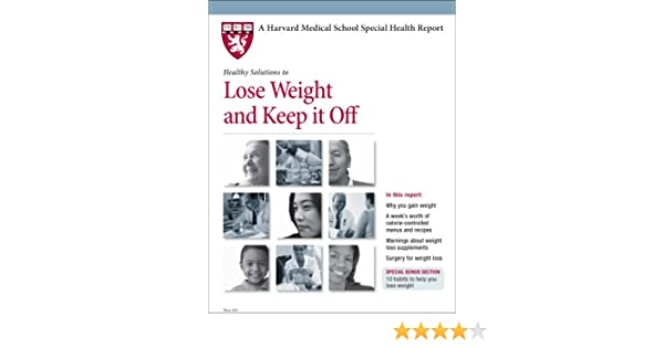 lose weight and keep it off harvard pdf