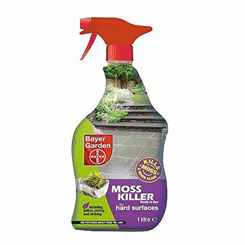 SBM Life Science Bayer Garden Moss Killer Ready to Use - 1 L