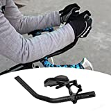 Enshey TT Handlebar Aero Bars Tri Bars Bike Rest Handlebar for Triathlon Time Trial, Road or Mountain Bike - A Pair