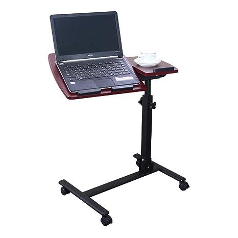 Tables MEIDUO - Carrito para Ordenador portátil (Altura Ajustable, sobremesa)