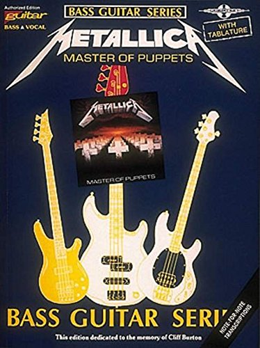 - Metallica - Master of Puppets* (Bass Guitar)
