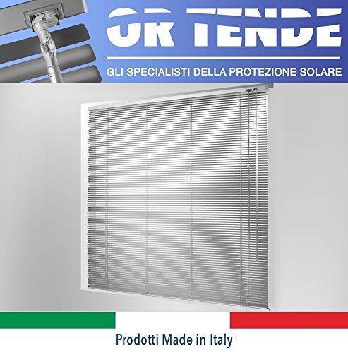 OR TENDE - Tenda Veneziana in ALLUMINIO da 15 mm Versione Standard, PRODUZIONE SU MISURA, non KIT CINESI di pessima qualità ORTENDE