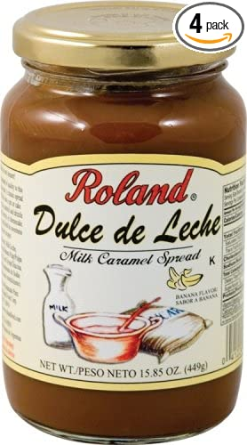 Roland Dulce De Leche With Banana, 15.85-Ounce Can (Pack of 4)