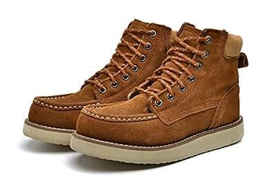 Amazon.com   Boots for Men Women, Leather Western Rain