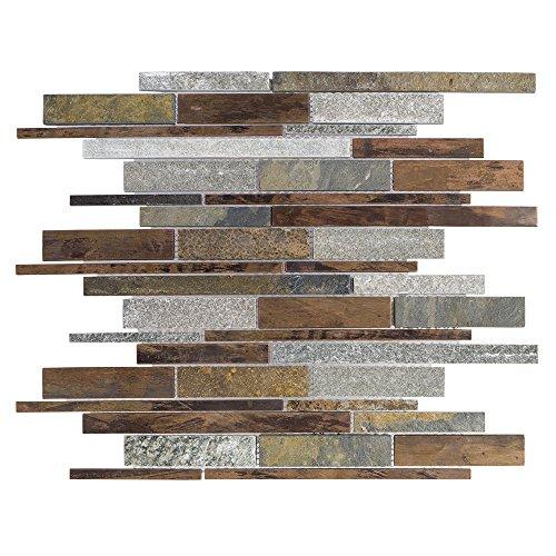 Brown Copper Mosaic Tile