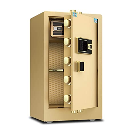 Cajas fuertes Caja fuerte de seguridad electrónica para el hogar con un hogar mediano Seguridad de