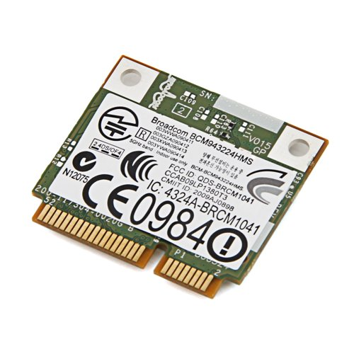 Dell Wireless 1520 DW1520 802.11agn WLAN Half-Height Card Broadcom BCM943224HMS