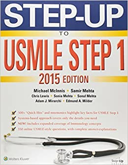 Book Step-Up to USMLE Step 1 2015 by Michael McInnis (2014-12-12)