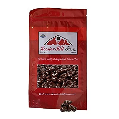 Dark Chocolate Cashews, Hoosier Hill Farm, (1 lb bag)