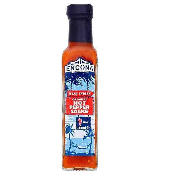 Encona - Original - Salsa de pimienta picante - 142 ml