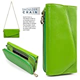 Wristlet Wallet Phone Case Women Clutch Wrist Strap Card Slots Cash Pocket Crossbody Shoulder Bag