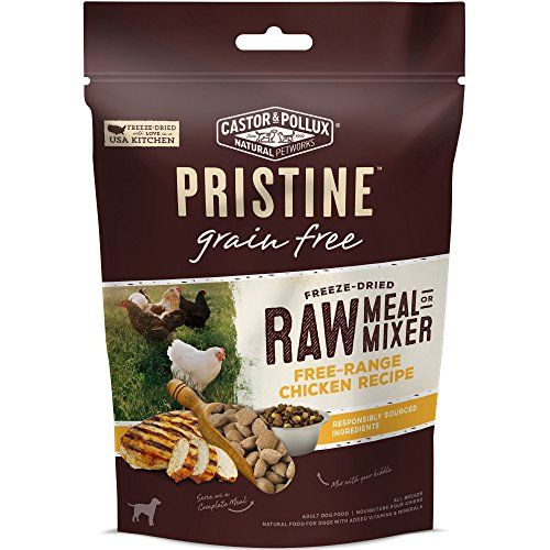 Castor & Pollux Pristine Freeze Dried Raw Meal Or Mixer Free-Range Chicken Recipe Dry Dog Food, 12.5 Oz -