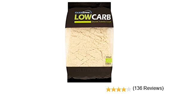 Harina de almendra Orgánica - 500 g - Low Carb - CarbZone: Amazon ...