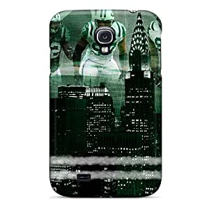 Premium VYr214EAlK Case With Scratch-resistant/ New York Jets Case Cover For Galaxy S4