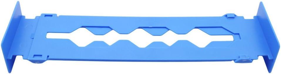 LALANG Adjustable Stretch Plastic Drawer Divider Organizer Storage Partition Board Multi-purpose DIY Home Office Tool black