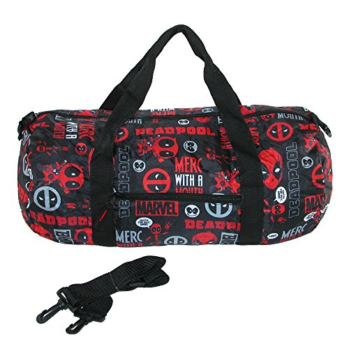 Marvel Deadpool Packable Duffle Bag