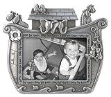 Malden Noah's Ark Baby Metal Picture Frame, Baby & Kids Zone