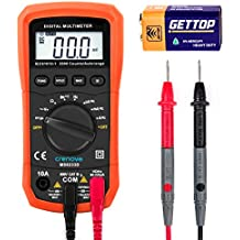 [Sponsored] Crenova MS8233D Auto-Ranging Digital Multimeter Home Measuring Tools with Backlight LCD Display