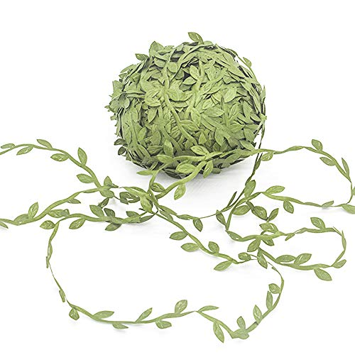 Artificial Vines,262 Ft Fake Hanging Plants Artificial Leaf Garlands DIY Wreath Foliage Green Leaves Decorative Home Wall Garden Wedding Party Wreaths Decor by Grunyia