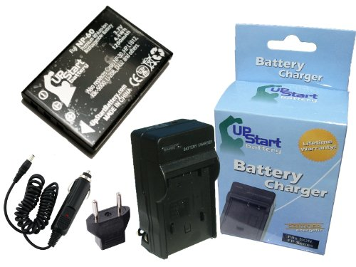 attery and Charger with Car Plug and EU Adapter - Replacement for HP L1812A Digital Camera Batteries and Chargers (1200mAh, 3.7V, Lithium-Ion) ()
