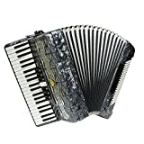 Excalibur Super Classic 120 Bass Accordion - Pearl Gray
