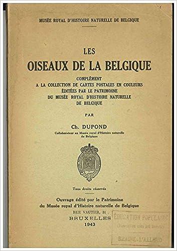 Carte Belgique Histoire.Les Oiseaux De La Belgique Complement A La Collection De
