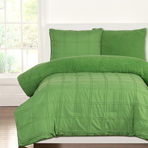 Siscovers Crayola Playful Plush Comforter Sets, Twin, Jungle Green