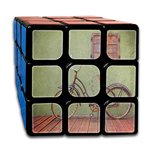 Rubiks Cube Summer Bike On Deck Great Speed Cube 3x3 Smooth Magic Square Puzzle Game -