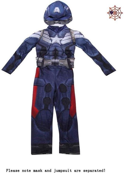 Cosplay Capitán América Disfraz The Avengers Disfraz Carnaval ...