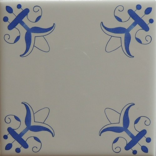Blue And White Tiles Delft Style Tiles Fleur De ()