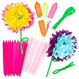 Amazon pacon pac59600 colorfast tissue flower kit 10 tissue paper flower kits for children to make decorate and personalize as a mothers day gift mightylinksfo Image collections