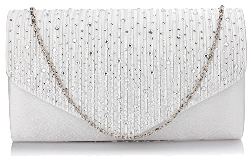 Ivory Flap Stunning Stunning Clutch Ivory DELIVERY Large FREE UK FREE Flap Clutch Large Purse Purse UTqU104