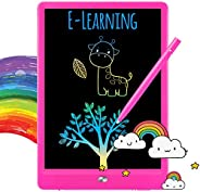 TEKFUN LCD Writing Tablet Doodle Board, 8.5inch Colorful Drawing Tablet Writing Pad, Girls Gifts Toys for 3 4
