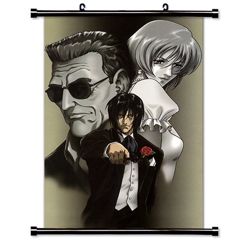 Gungrave Anime Fabric Wall Scroll Poster  Inches -Gungrave-1