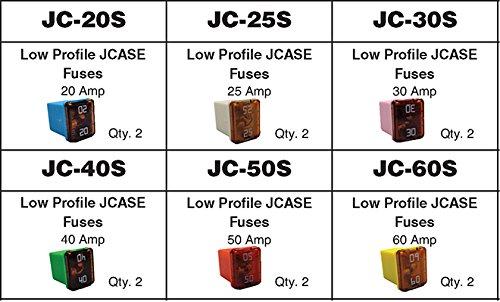 Dynamic DY-JC-12LP-A Low Profile Case Fuse Assortment, 1 Pack
