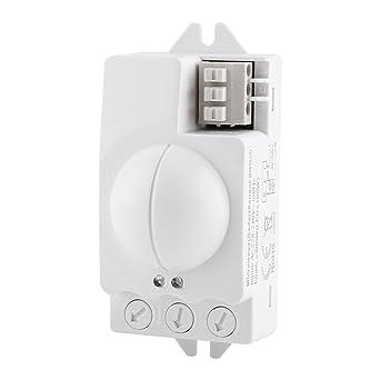 Interruptor de Luz de Radar, Interruptor de Sensor, Microondas, Detector de Movimiento,