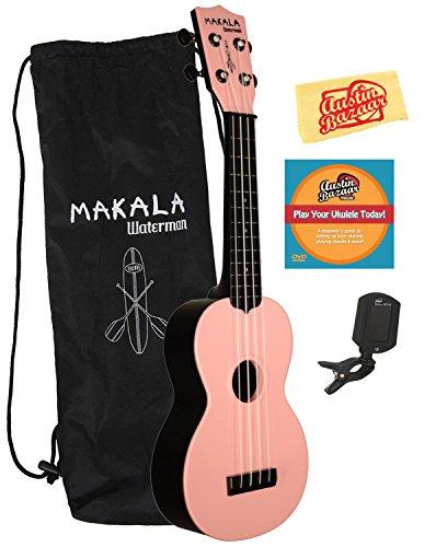 MK-SWB Makala Waterman Soprano Ukulele Bundle with Gig Bag
